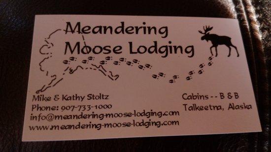 Meandering Moose Lodging: IMAG5145_large.jpg
