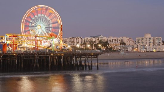 Hilton Los Angeles Airport: Santa Monica Pier