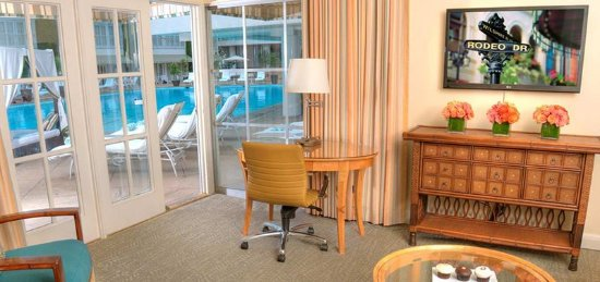 The Beverly Hilton: Poolside Suite