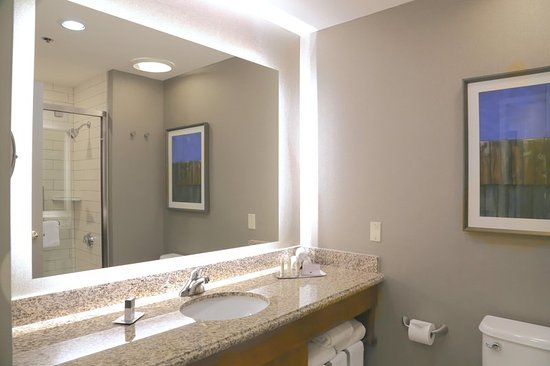 DoubleTree by Hilton Hotel Boston - Rockland: Guest Room Bathroom
