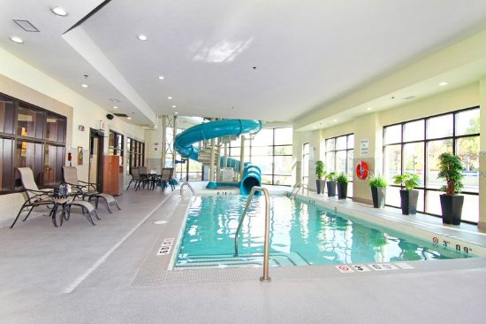 Holiday Inn Express Hotel Suites Calgary Nw Banff Trail Swimming Pool