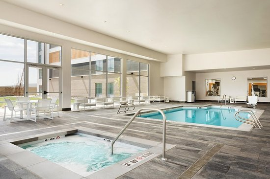 Indoor Heated Pool And Spa Picture Of Homewood Suites By