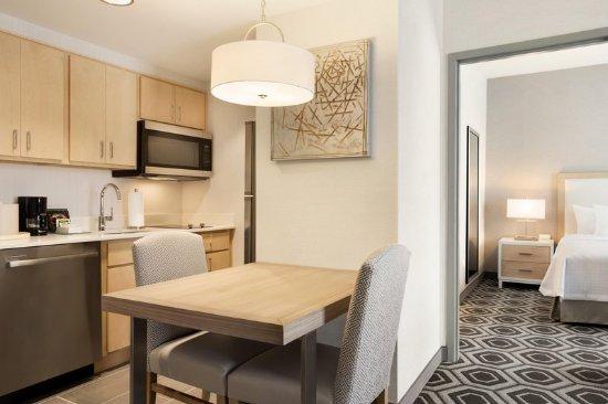Draper, UT: One Bedroom King Suite Kitchen Area