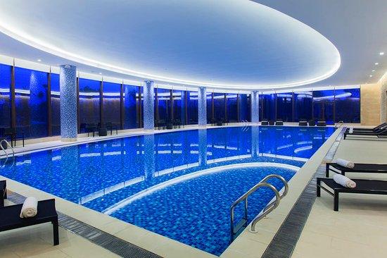 Nanyang, China: Indoor Swimming Pool
