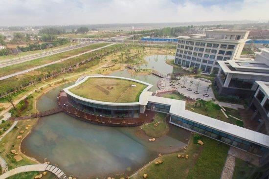 Nanyang, China: View from Hotel
