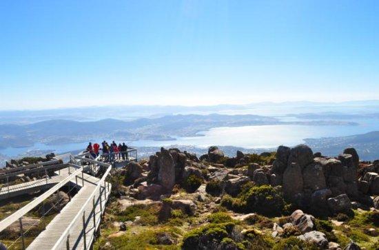 Mount Wellington og Tasmanian Devil...