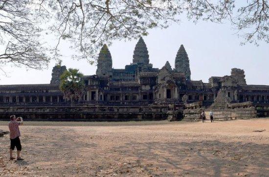 Dia inteiro Templos de Angkor de bicicleta: Full Day Angkor Temples by Bicycle