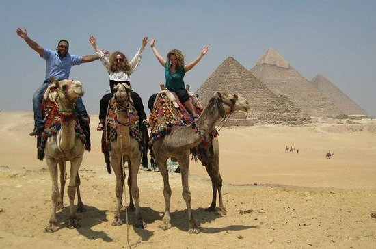 giza pyramids camel quad bike light...