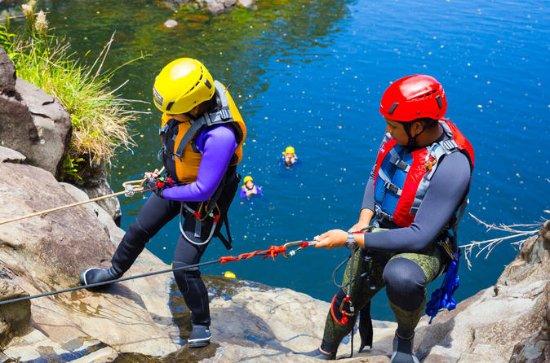 Cascada Rappel y River Experience