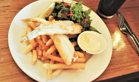 Aireys Inlet, Australia: FIsh and Chips of course!