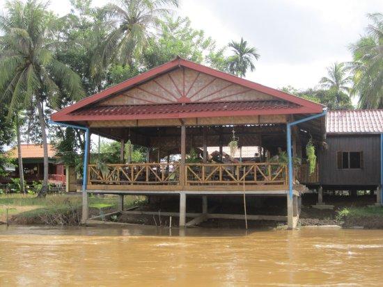 Don Det, Laos: The restaurant