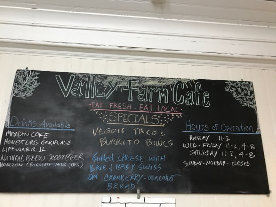 Orange, MA: Valley Farm Cafe