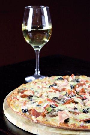 Santo Domingo de Heredia, Costa Rica: Pizzas libres de gluten y con opción de queso vegano