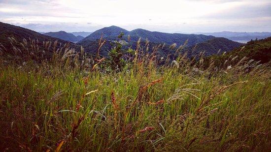 Gwangju, Sydkorea: Jungmeorijae Peak