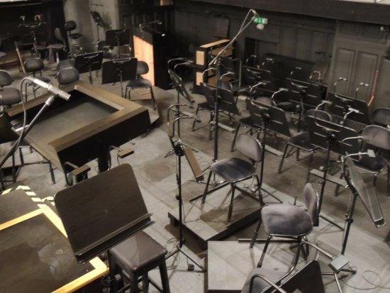Latvian National Opera : Orchestra pit