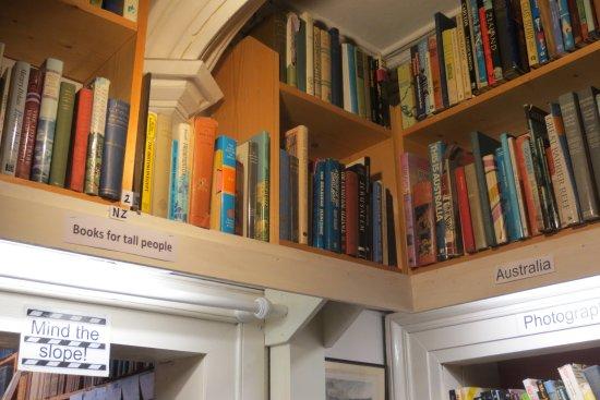 Wigtown, UK: Australian and NZ books.