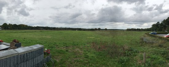 History Trips: A field where some of the British paratroopers landed.
