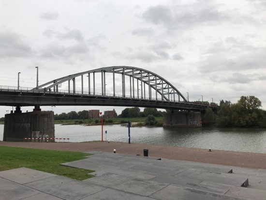 History Trips: The Arnhem bridge today.