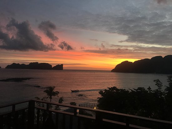 Phi Phi The Beach Resort: view from room 2205
