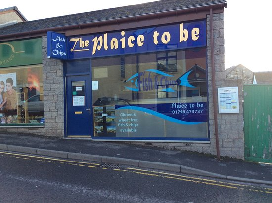 The Plaice to Be: Parking available opposite the shop.