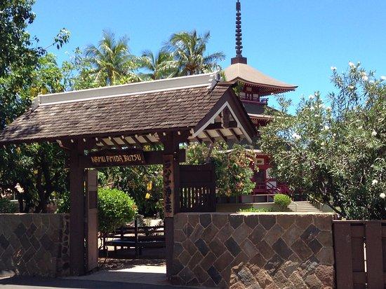 Lahaina Jodo Mission : Located near Puunoa Beach...