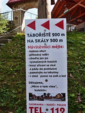 Informace pro turisty