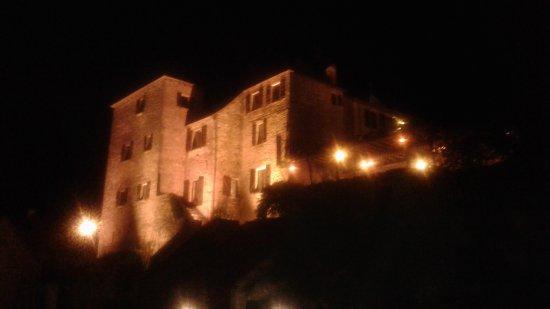 Meyronne, Francia: hotel La terrasse la nuit
