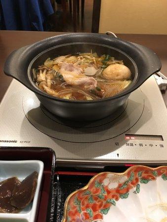 Tenei-mura, Japan: 夕食鍋