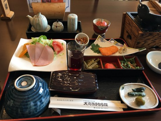 Tenei-mura, اليابان: 朝食会場食