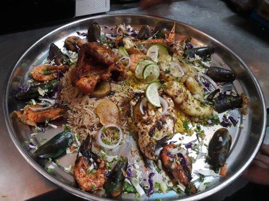 Johor Bahru District, Malasia: Restaurant Wadi Hana Elarabi