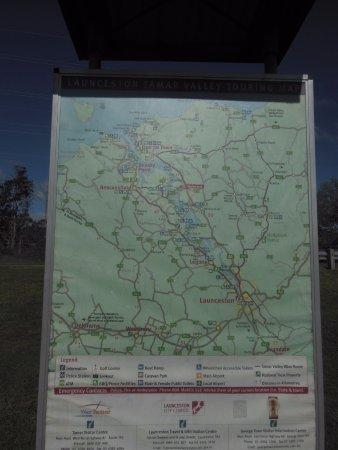 The Tamar Valley : Tamar Map