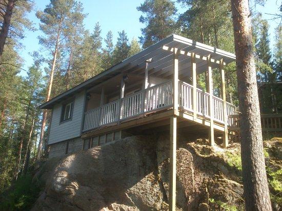 Kouvola, Finlandia: Uusittu Kotomökin sauna