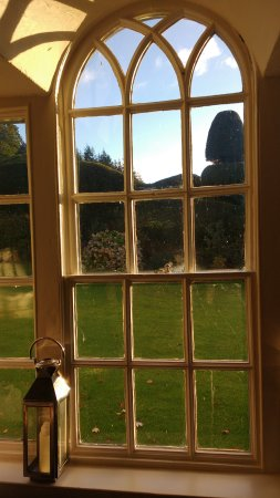 Graythwaite, UK: View from reception room