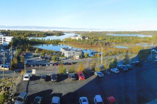 Explorer Hotel: 西南の向きは、湖の景観良い