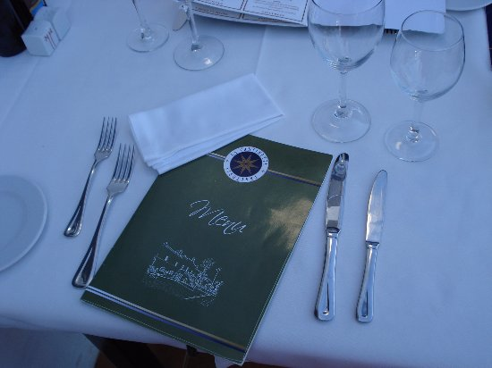 La Cantinetta Trattoria : Table setting