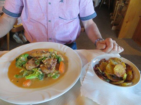 Eisenberg, Alemania: Ein Abendessen!