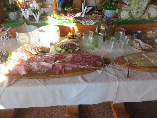 Eisenberg, Alemania: Frühstücksangebot
