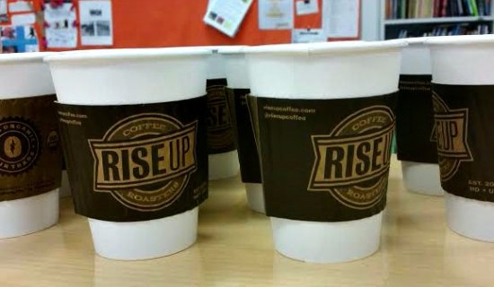Easton, MD: There are pots of coffee for those in a rush, honor system to pay.
