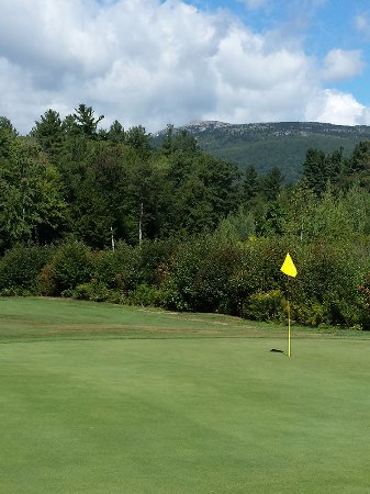 Jaffrey, NH: Shattuck, seventh green