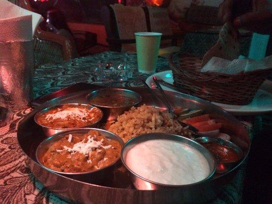 Hard Rock : yummy thali