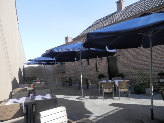 Beauvechain, بلجيكا: Notre terrasse