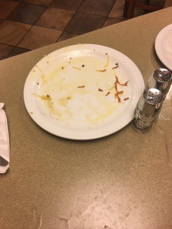 Edgewood, MD: Hash browns were undercooked and full of grease.