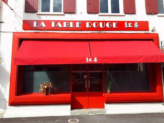la table rouge les andelys restaurantbeoordelingen tripadvisor. Black Bedroom Furniture Sets. Home Design Ideas
