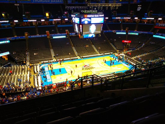 Chesapeake Energy Arena: IMG_20171006_175627_large.jpg