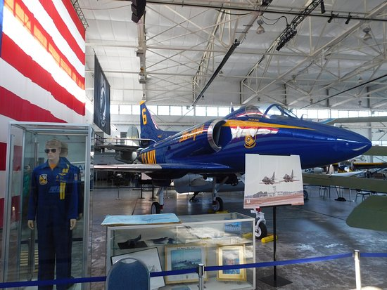 MAPS Air Museum: Blue Angels Aircraft