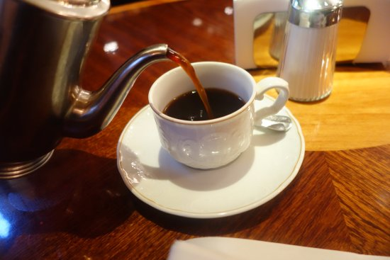 Coffee from the pot
