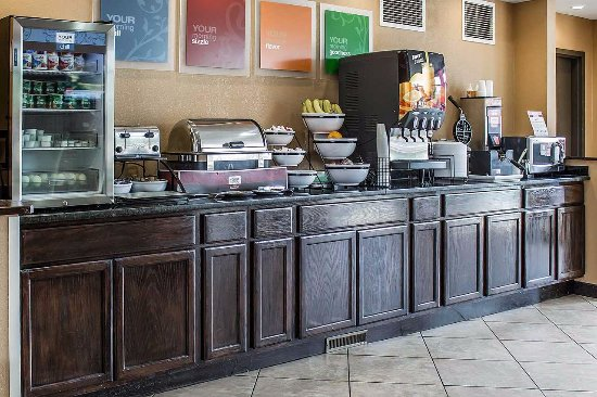 Comfort Inn & Suites: Breakfast Bar