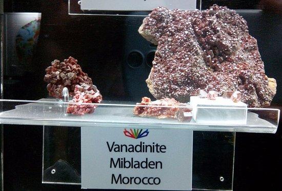 Corpach, UK: Minéraux issus d'une mine de plomb