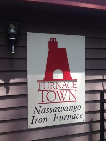 Snow Hill, MD: THE Furnace sign