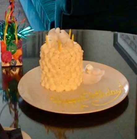 """theWit - A DoubleTree by Hilton: 4"""" celebration cake from hotel pastry chef ($25)"""